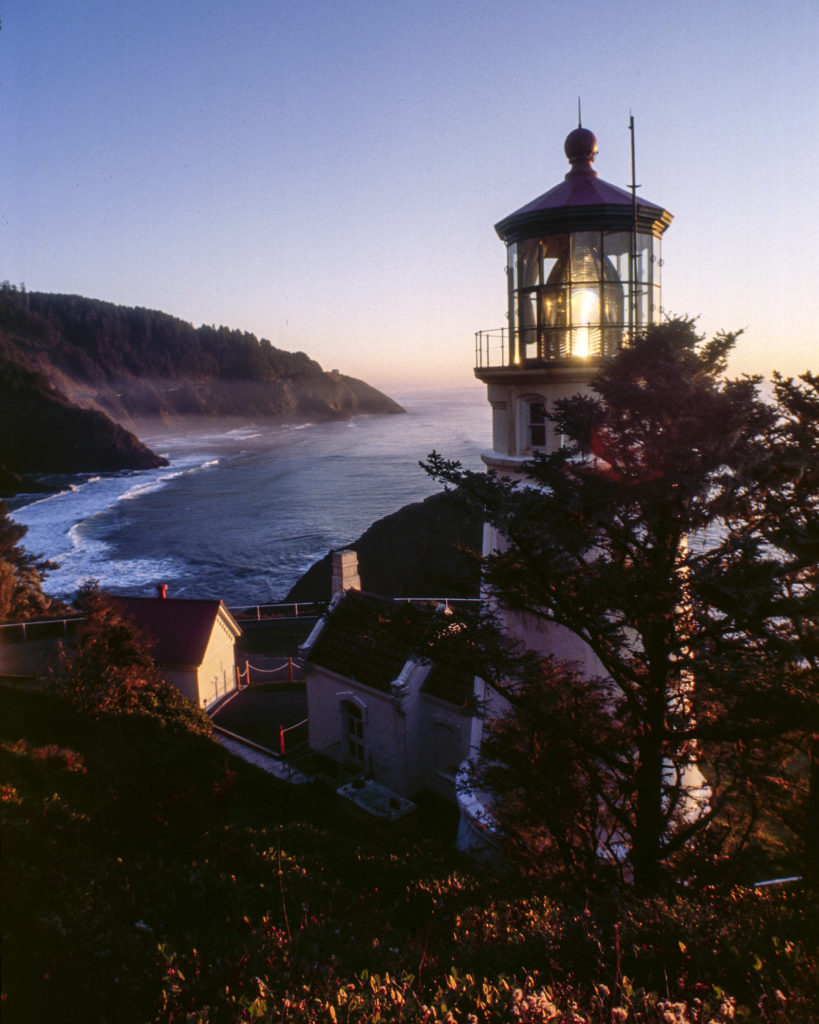Hecta Head Light House , Located near Florence Oregon